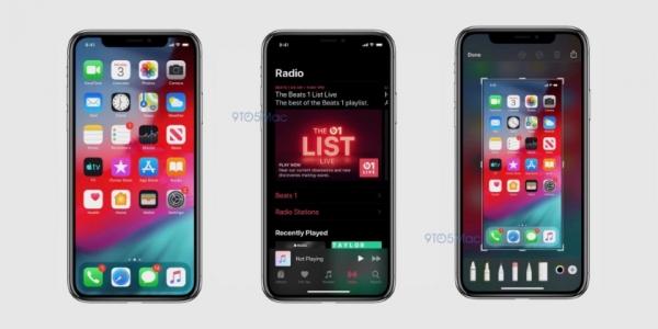 В сеть утекли скриншоты iOS 13: тёмная тема, новое приложение «Заметки» и многое другое