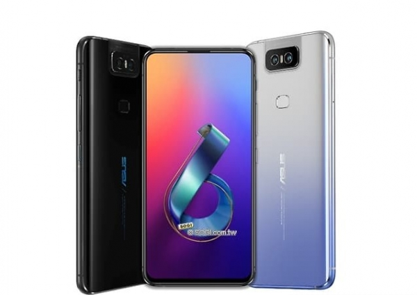Флагман Asus ZenFone 6Z получит вращающуюся камеру, как у Galaxy A80 (обновлено)