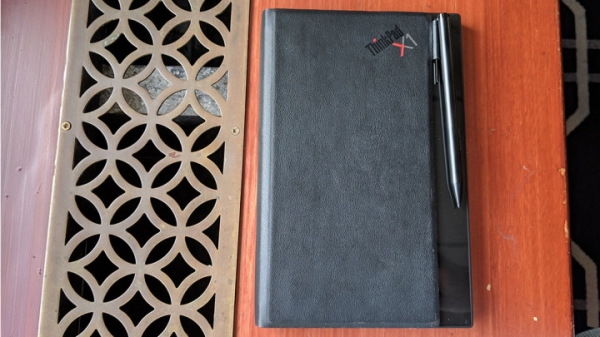 Lenovo показал первый гибкий ноутбук