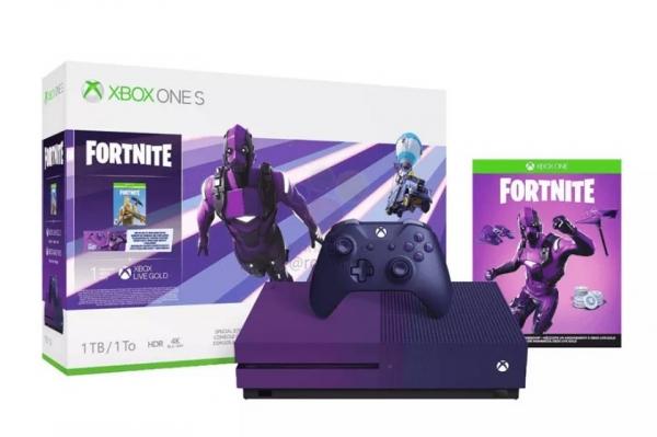 Слух: Microsoft выпустит фиолетовый Xbox для фанатов Fortnite