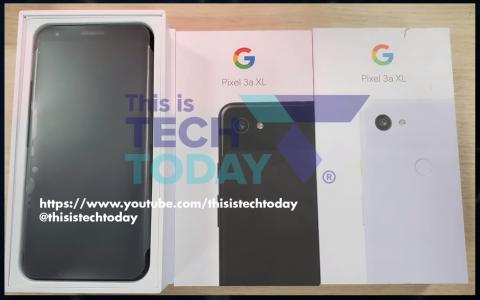 Google Pixel 3a XL появился в магазине раньше официальной презентации