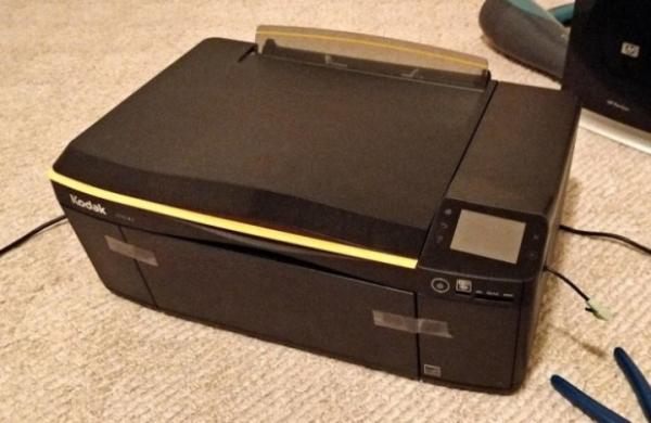 Энтузиаст превратил принтер в ноутбук