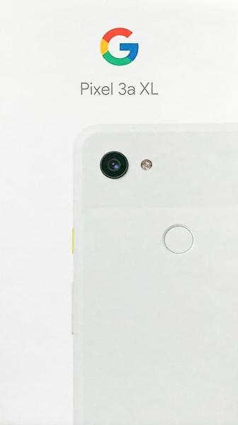 Коробка Google Pixel 3a XL подтвердила название и дизайн