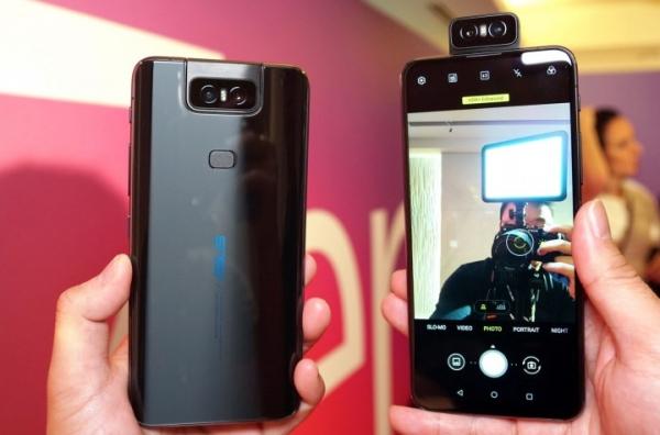 Asus Zenfone 6 превращает задние камеры в передние