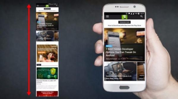 Google подтвердил, что в Android 11 появится прокрутка скриншотов