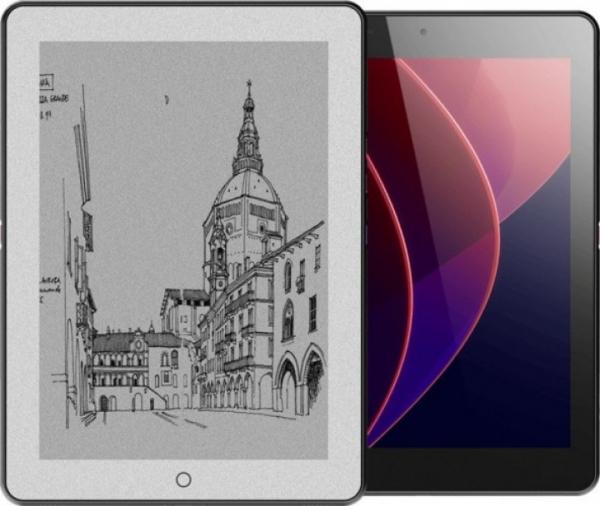 Epad X — первый планшет с двумя экранами