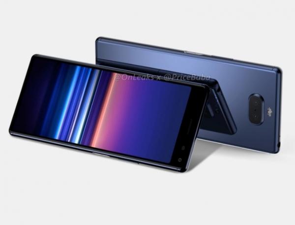 Sony Xperia 20 появилась на качественных рендерах с дисплеем CinemaWide и двойной основной камерой