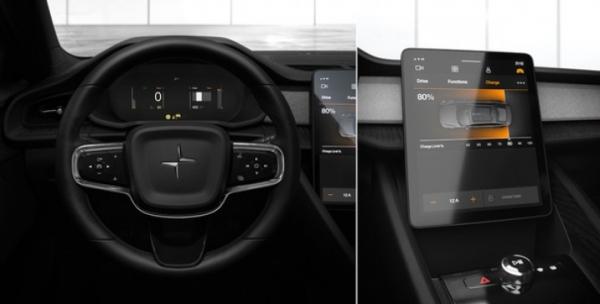 Polestar 2 – электромобиль под управлением Android
