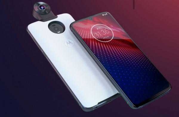 Motorola запустила продажи модульного смартфона Moto Z4