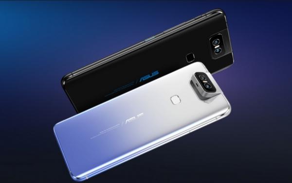 Asus ZenFone 6: камера-перевертыш, батарея на 5000 мАч и Snapdragon 855 за €499