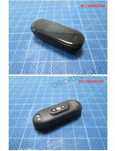 Похож на Mi Band 3: в сети появились первые «живые» фотографии смарт-браслета Xiaomi Mi Band 4