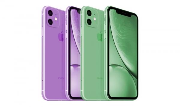 iPhone XR 2019 получит две новые расцветки корпуса: зелёную и лавандовую