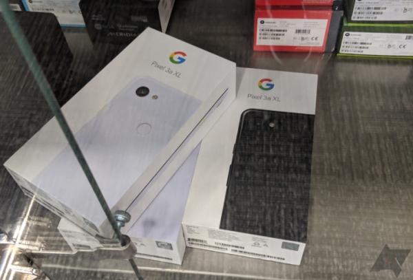 Первая партия Google Pixel 3a XL уже в магазинах США (фото)