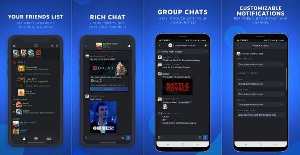 Valve выпустила приложение Steam Chat для iOS и Android