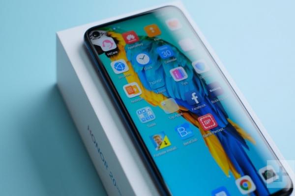 Как Honor View 20: флагманский смартфон Honor 20 Pro получит отверстие в экране для камеры