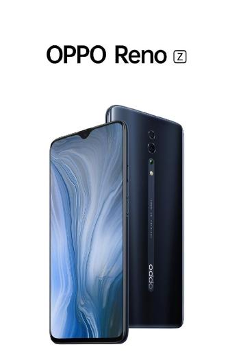 Oppo Reno Z: дисплей с «капелькой» на 6.4″, подэкранный сканер, фронтальная камера на 32 Мп и чип MediaTek Helio P90