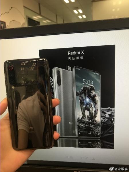 Флагман Redmi X выдвижной камерой впервые на реальном рендере?