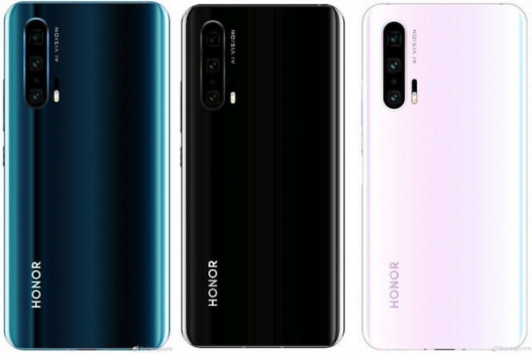 Honor 20 Pro в стиле Honor View 20 на живых фото