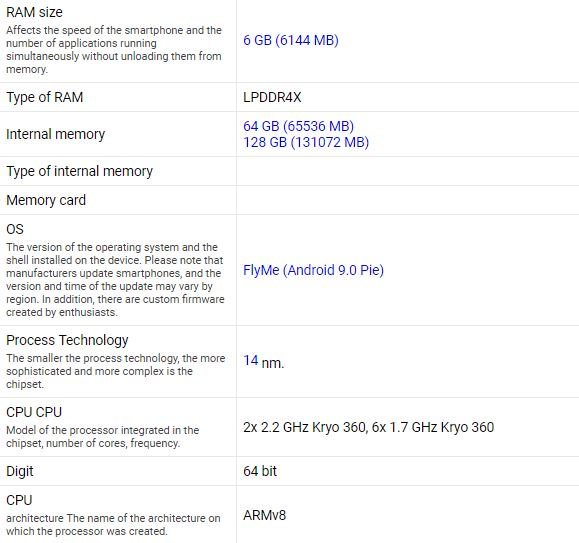 Meizu 16Xs полностью рассекречен за 4 дня до анонса: «монобровь», Snapdragon 712 и тройная камера