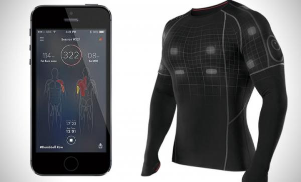 Разработана умная одежда, контролирующая тепло тела с помощью смартфона
