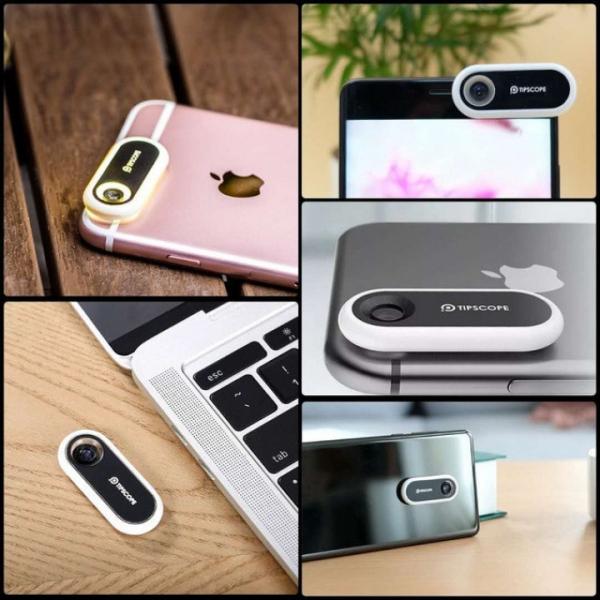 Tipscope – миниатюрный микроскоп для смартфона