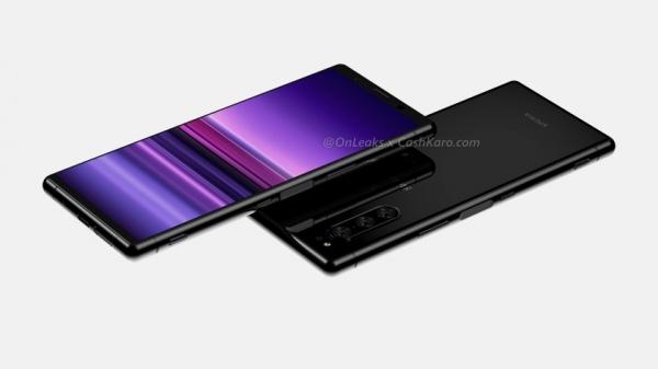 Sony Xperia 2 появилась на качественных рендерах: экран 21:9, тройная камера и сканер на боковой стороне