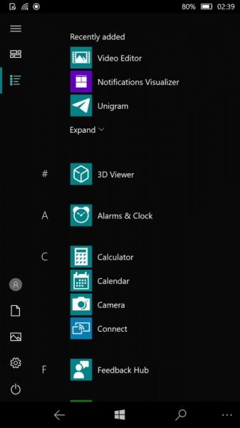 Mobile Shell адаптирует Windows 10 для смартфона