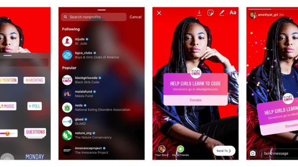 Instagram обновился: без лайков, но с пожертвованиями и новым интерфейсом камеры