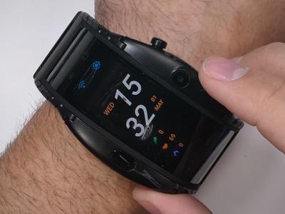 Часы-смартфон Nubia Alpha боятся огня и острых предметов