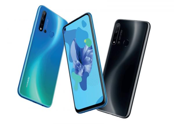 Huawei P20 Lite (2019) получит экран на 6.4″ с вырезом, камеру с четырьмя модулями и батарею на 4000 мАч
