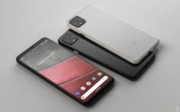Google Pixel 4 появился на качественном концепт-рендере: дисплей без выреза и двойная основная камера
