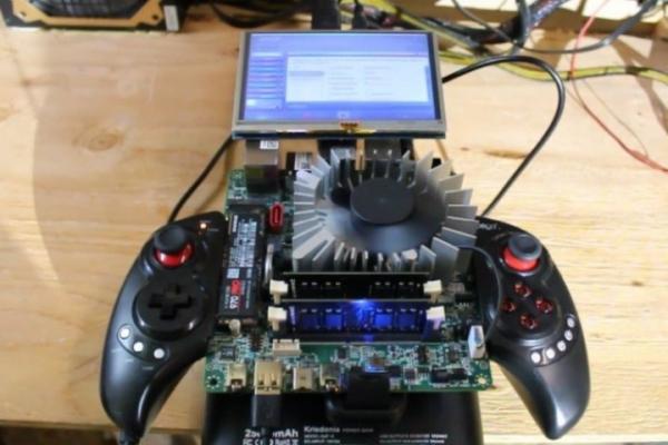 Блогер собрал портативную консоль на процессоре AMD Ryzen