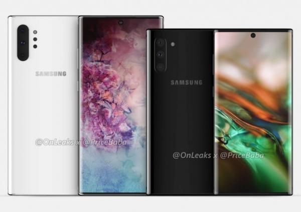 Флагманскую линейку смартфонов Samsung Galaxy Note 10 представят 7 августа