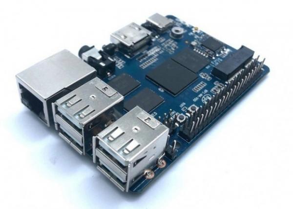 Banana Pi BPI-M4 – одноплатный компьютер с поддержкой 4К за $38