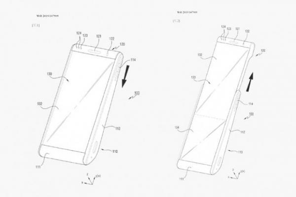 Samsung планирует смартфон с необычным сворачиваемым дисплеем