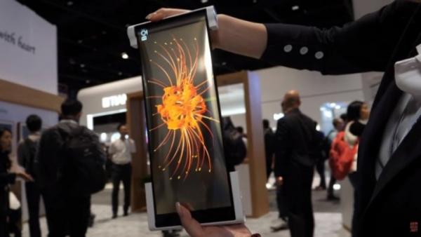 BOE представил сворачиваемый дисплей для смартфонов