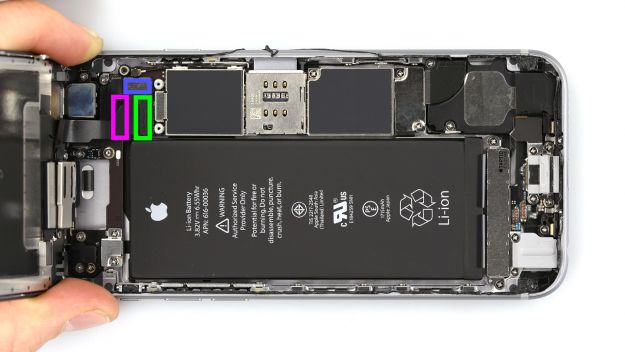 Как заменить дисплей на iPhone 6s