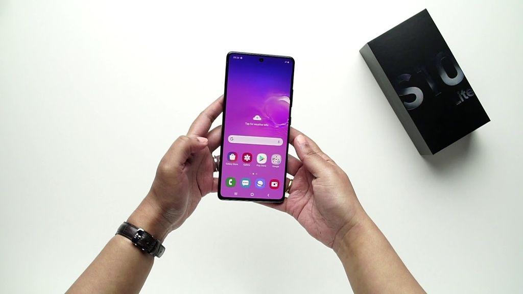 Samsung Galaxy S10 Lite: облегченная версия флагмана