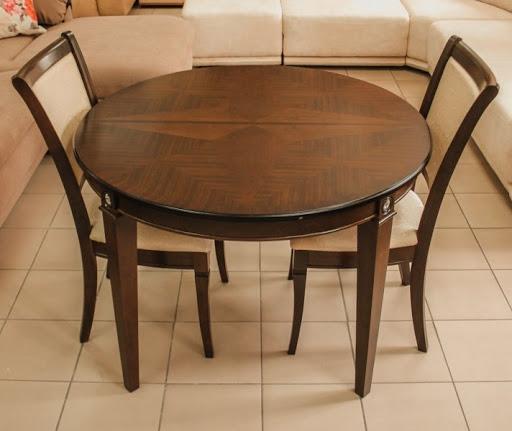 Купить круглый деревянный стол