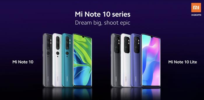 Xiaomi Mi Note 10 Lite — новинка китайского производителя